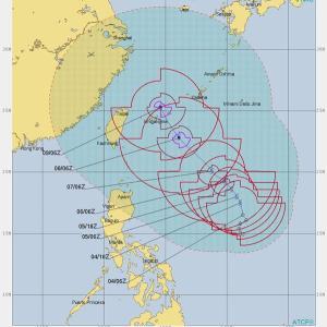 台風9号は  ■サンセベリアの館■