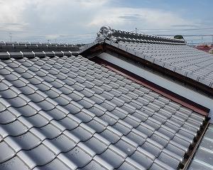 屋根・雨漏りの屋根・瓦確認