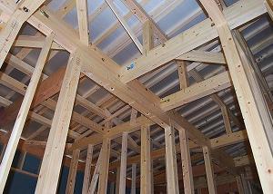 新築住宅の県内産・木材検査
