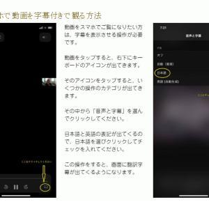 『神聖幾何学マルセイユタロット』の動画を見るための字幕操作!