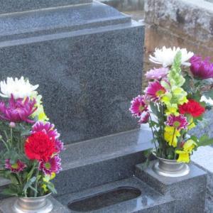 春秋苑墓地清掃