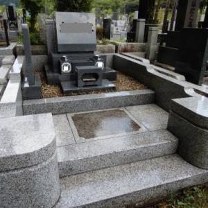 津田山墓地掃除