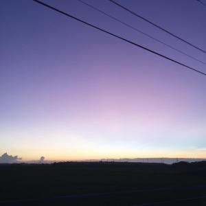 きれいな空と想い