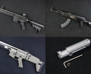 【入荷情報】WE ガスブロ本体各種(M4A1/HK416D/RARS/R5C/SCAR L/AK PMC)入荷!