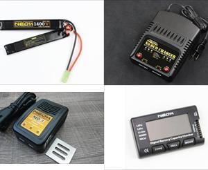 【入荷情報】NEOX製品(Lipoバッテリー各種・充電器・チェッカー)入荷しました!
