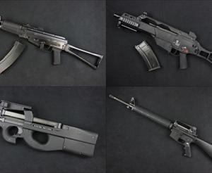 【入荷情報】WE ガスブロ本体5機種(AK74UN/G36C/M16A3/P90/R5) 入荷しました!