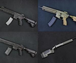 【入荷情報】VFC/UMAREX 電動ガン本体各種(M27/HK416A5/HK417/他)、M40A3 入荷!