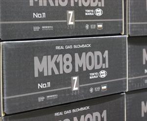 【入荷情報】東京マルイ MK18 Mod.1 ガスブローバック 再入荷!