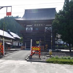 正源寺にて鮭延秀綱のお墓参り