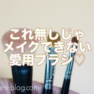 【メイクブラシ】もうこれ無しでメイクできない〜!毎日使っている愛用ブラシ〜3CEとAncci☆