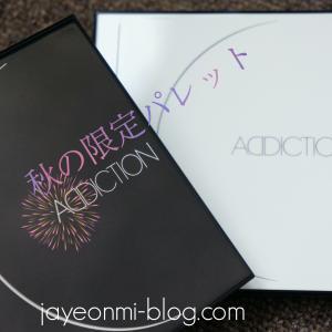 【ADDICITON】10周年♪アディクションの2019年、秋の限定パレット〜アイコンシャス☆
