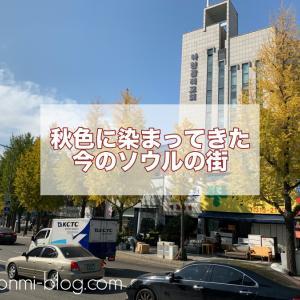 【日々の話】すっかり秋♪今のソウルの風景☆