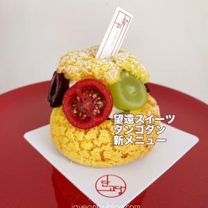【望遠洞】美味しいケーキ屋さん♪タンゴダンの新メニュー、フルーツたっぷりシュークリーム☆