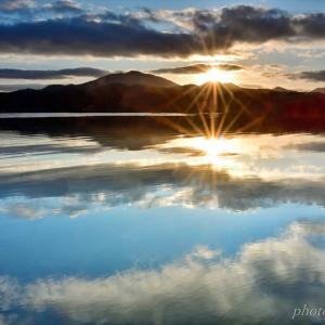 みちのく御所湖朝陽景6