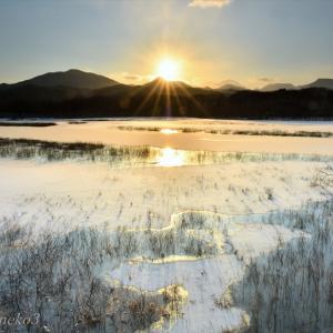 みちのく御所湖朝陽景7