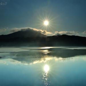 みちのく御所湖朝陽景8