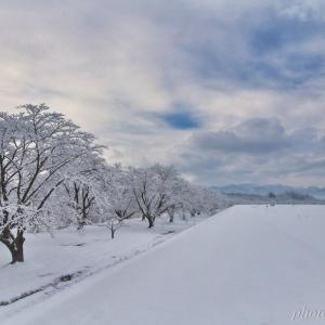 みちのく冬の雫石川園地