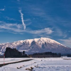 みちのく岩手山景(寒い日)