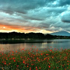 みちのく初秋の御所湖景