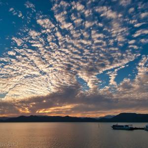 みちのく田沢湖の夕景