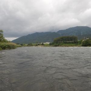 富山遠征 井田川で鮎釣り^ ^