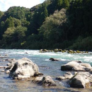 ラストの鮎釣りは球磨川で(^^)