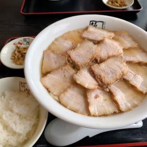 喜多方ラーメン坂内のチャーシュー麺^ - ^