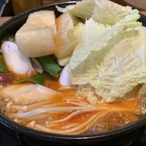 今夜はキムチ鍋(^。^)