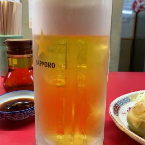 餃子とビール^ - ^