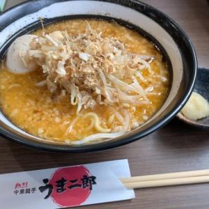 うま二郎ラーメンからの串カツゥゥ