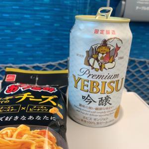餃子にビール^ ^