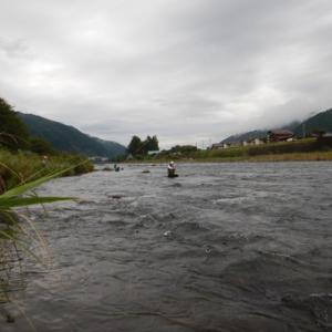 長良川大和で鮎釣り^ ^