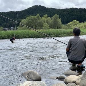 デカイ尺物を釣る(^。^)