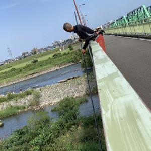 九頭竜川でオモロイ鮎釣り(^.^)