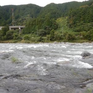 郡上八幡で鮎釣り(^^)