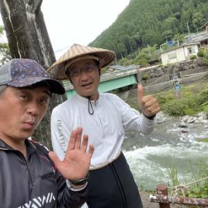 馬瀬川上流で鮎釣り(^^♪馬瀬鮎最高(^O^