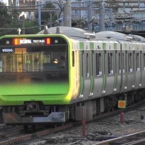 JR品川駅山手線京浜東北線線路切替