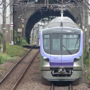 東京メトロ半蔵門線用18000系試運転