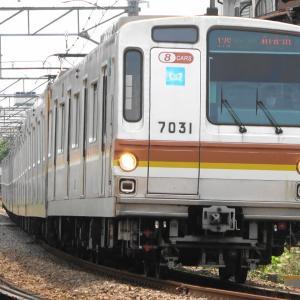 東横線の東京メトロ7000系