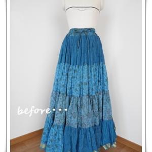 インド服~ベリーダンスの衣装~のお直し