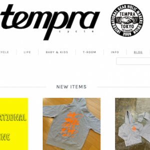 tempra Online Store年末年始について