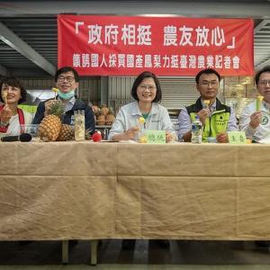台灣パイナップルで アップサイドダウンケーキ