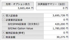 6/8  オプション -305円
