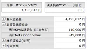 7/6  オプション -385円