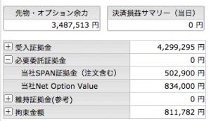 7/27  オプション -75円
