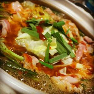 レタスキムチ鍋。