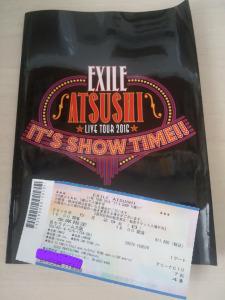EXILE ATSUSHI2016年大阪・京セラドームソロライブ