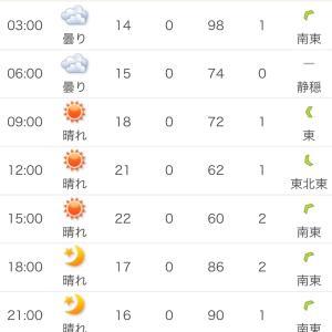 山中湖の天気