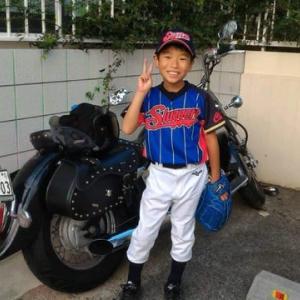 野球少年!サッカー少年!