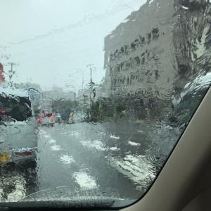 8/12大雨!!!買い物へ